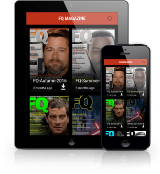 FQ magazine App Preview