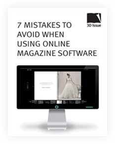 Mistakes to avoid when using online magazine software