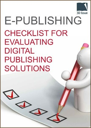 e-Publishing, evaluating digital publishing solutions