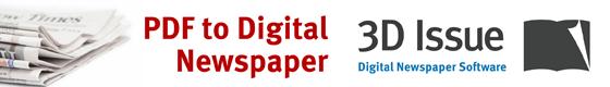 pdf to digital newspaper