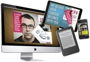create multi-platform magazines and e-books