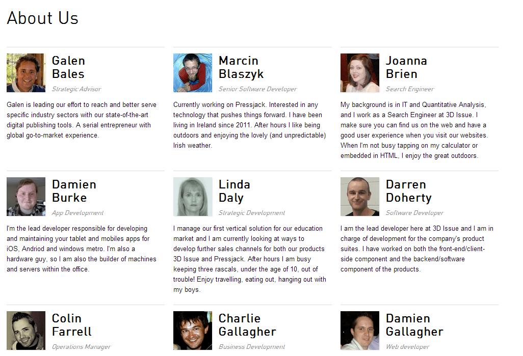 Meet the 3D Issue team!