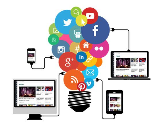 Hubs, Social Media