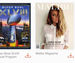 Magazine library app