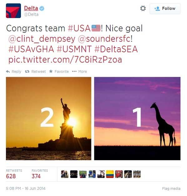 Delta Social Media Mistakes